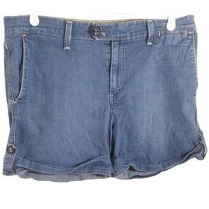 Levi's Tab Twills Denim Shorts Size 12